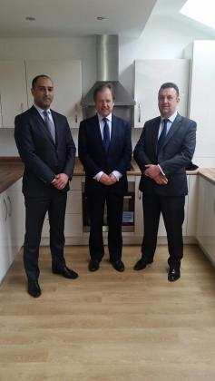 Minister of State visits Manchester private rented sector scheme funded by Gatehouse Bank